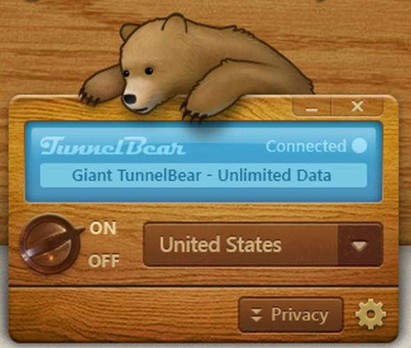 TunnelBear: el VPN inteligente