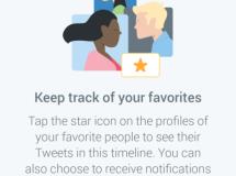Twitter evalúa la opción de tener usuarios favoritos con un timeline separado