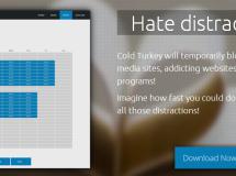 Cold Turkey ofrece un método drástico para aumentar nuestra productividad