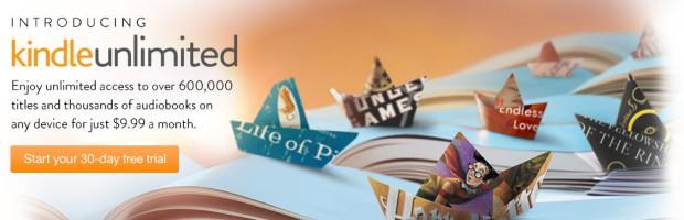 Amazon presenta Kindle Unlimited: acceso a miles de libros con una cuota de pago mensual