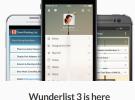 Wunderlist 3 ya está disponible