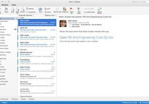 Microsoft anuncia que OSX recibirá una nueva versión de Outlook