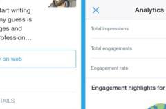 Twitter experimenta para añadir estadísticas en los tweets
