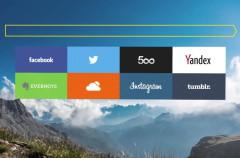 Yandex presenta la versión alfa de su navegador