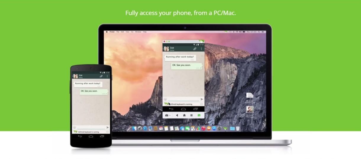 AirDroid 3, una nueva forma de administrar tu smartphone desde el PC