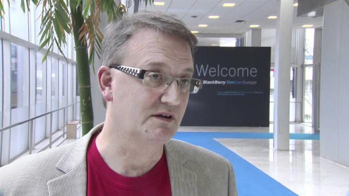 Alec Saunders, vicepresidente de Blackberry, se va a Microsoft