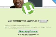 Quita la publicidad de uTorrent con Pimp my uTorrent, con un sólo click
