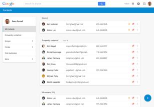 Google Contactos presenta un mejorado diseño y nuevas funcionalidades