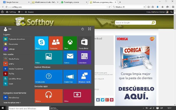Filtrados detalles sobre la Build 10031 de Windows 10