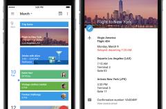 Google Calendar, ahora disponible para iPhone