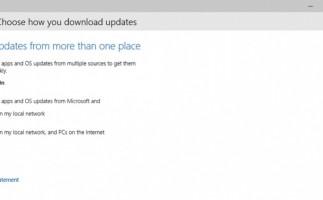 Windows 10 contará con tecnología P2P para las actualizaciones