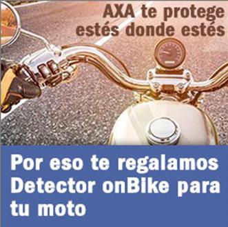 Axaonbike, la app de Detector OnBike para tener localizada tu moto en cada momento
