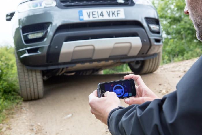 Land Rover Teledirigido