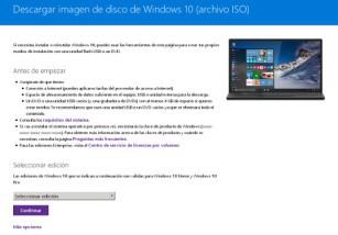 Así puedes descargar las imágenes ISO de Windows 10