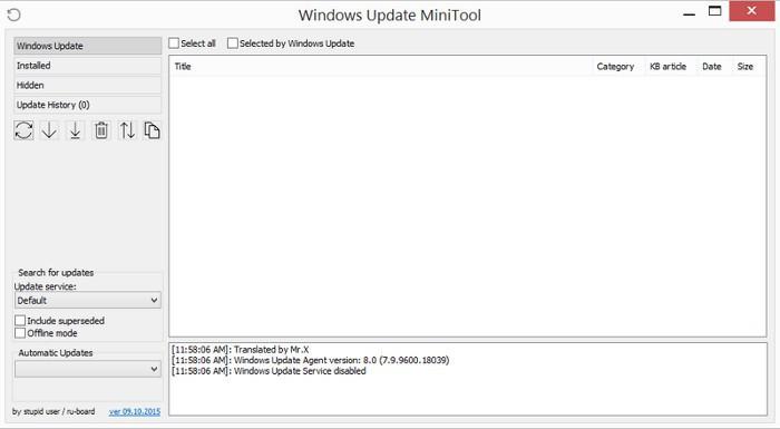 Windows Update MiniTool, una herramienta para administrar las actualizaciones
