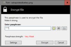 Fort File Encryption, una nueva aplicación para cifrar ficheros