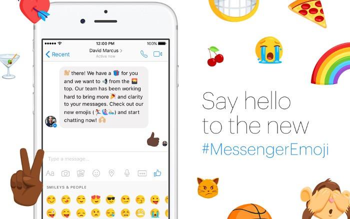 Facebook Messenger ya tiene 1.500 nuevos emojis