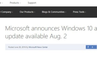 Microsoft confirma el día en el que podremos actualizar a Windows 10 Anniversary Update