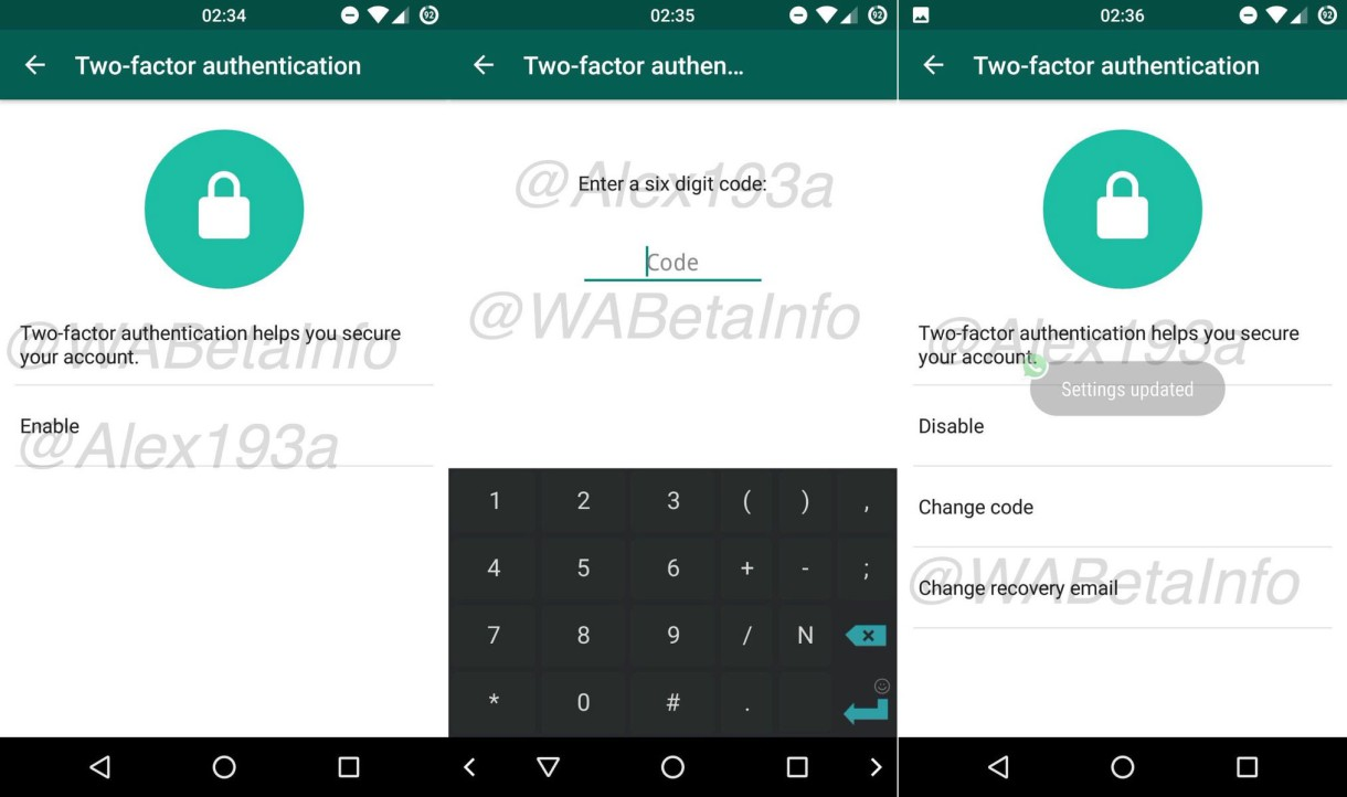 WhatsApp tendrá autenticación en dos pasos