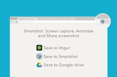 Smartshot nos permite obtener capturas de pantalla, escribir y dibujar sobre ellas