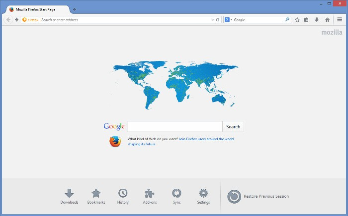 Firefox 49: solucionando problemas e integrando características