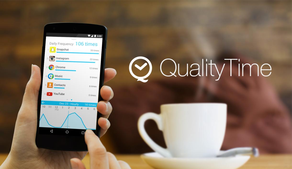 QualityTime, una aplicación para descubrir nuestros hábitos de uso del móvil
