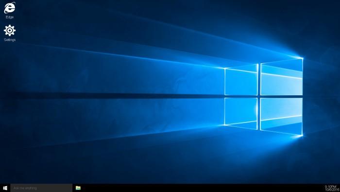 Este Windows 10 funciona desde el navegador