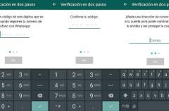 WhatsApp ya tiene verificación en dos pasos en su última beta
