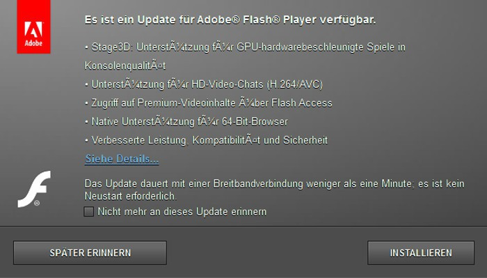 Avisamos: disponible un parche de emergencia para Flash bajo Windows