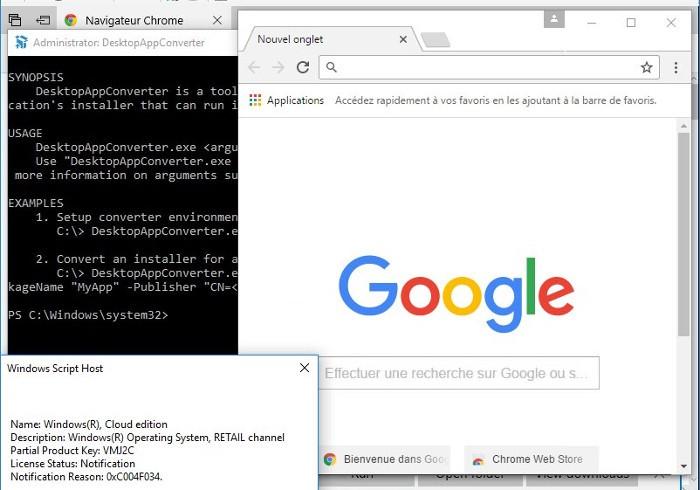 Windows 10 Cloud vulnerado: ahora permite ejecutar aplicaciones de 32 bits