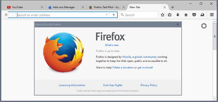Firefox 53.0: eliminación del soporte a XP y Vista y otros cambios menores