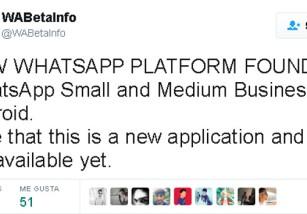 WhatsApp tendrá una nueva aplicación enfocada en las empresas