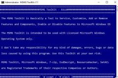 Creando instalaciones personalizadas de Windows 10 con MSMG Toolkit
