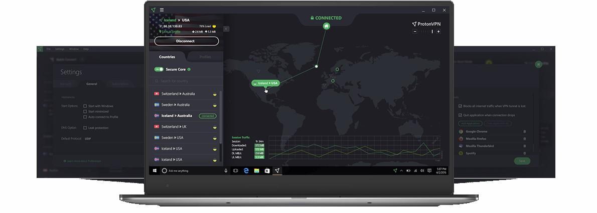 ProtonVPN, la VPN del equipo de ProtonMail