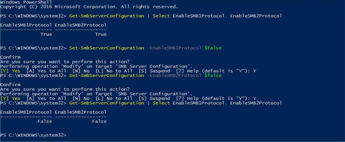 SMBv1 será eliminado de Windows 10 para evitar vulnerabilidades