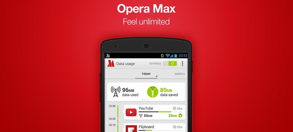 Opera paraliza el desarrollo de Opera Max