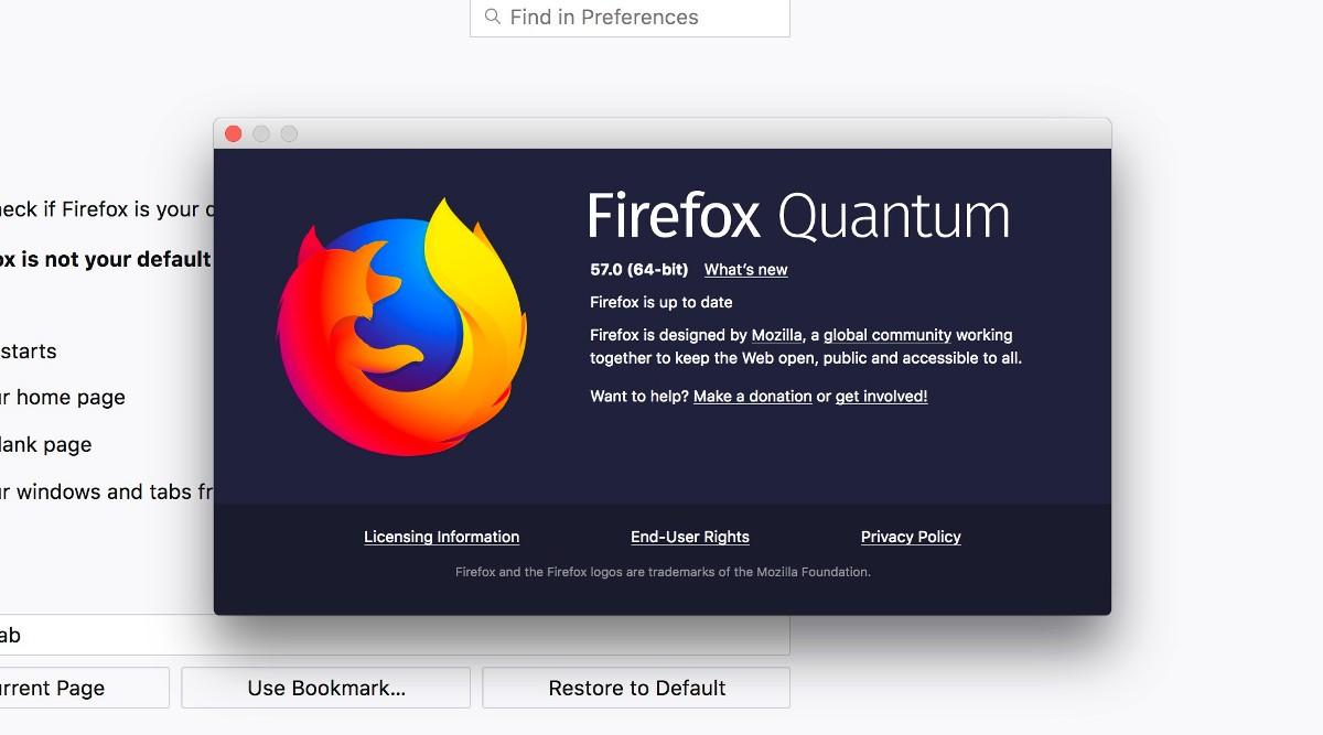 Firefox 57, la versión que ya integra Quantum y se hace más rápida