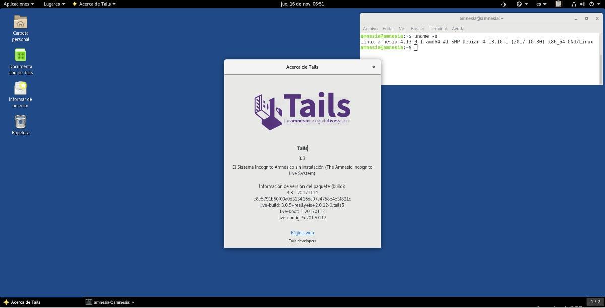 La seguridad sigue aumentando: Tails estrena su versión 1.2.1