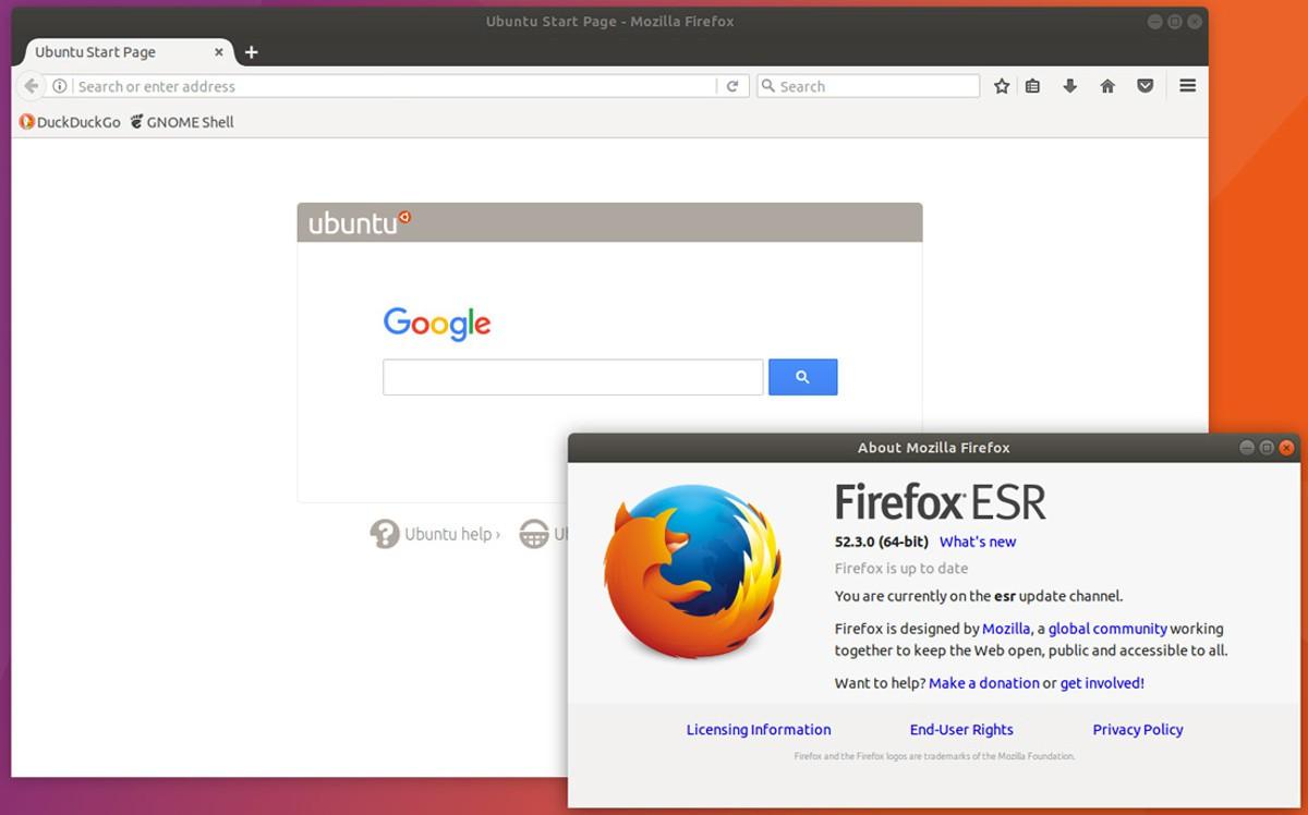 El próximo Firefox ESR estará basado en la versión 60