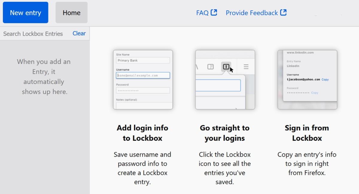 Estas son las últimas novedades de Lockbox, el próximo gestor de contraseñas de Firefox