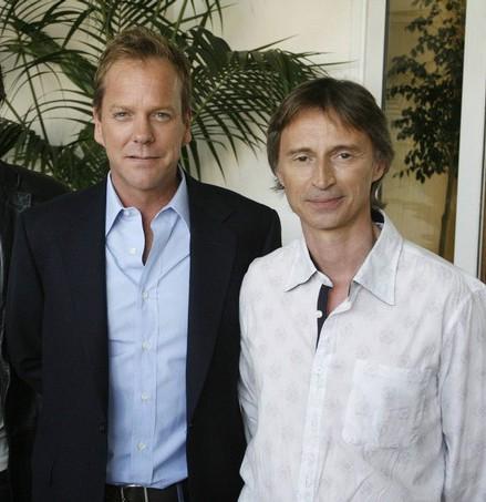Kiefer Sutherland y Robert Carlyle
