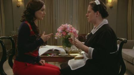 Dorota y Blair de Gossip Girl