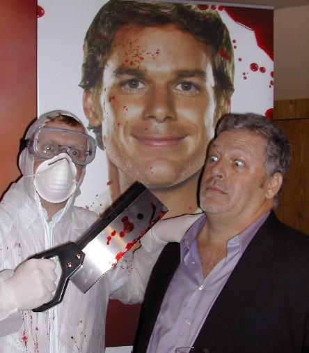 Jeff Lindsay, creador de Dexter