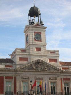 Puerta del Sol, desde donde todas las cadenas retransmitirán las campanadas