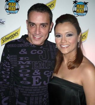 Ali con Kiko Hernández