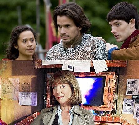 Merlin y Sarah Jane Adventures