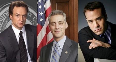 Rahm Emanuel y sus rostros televisivos