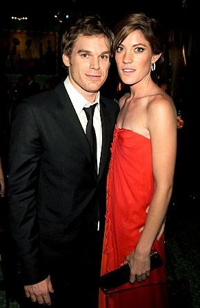 Michael C Hall y Jennifer Carpenter