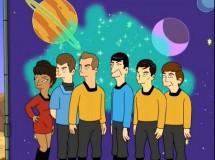 La nueva generación de Star Trek se reúne en Padre de Familia