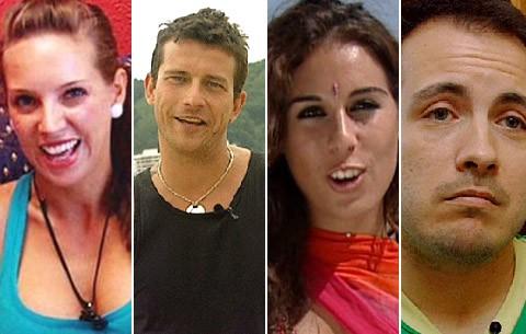 Rebeca, Arturo, Hans e Indhira